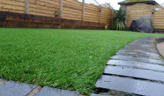 What artificial grass looks like