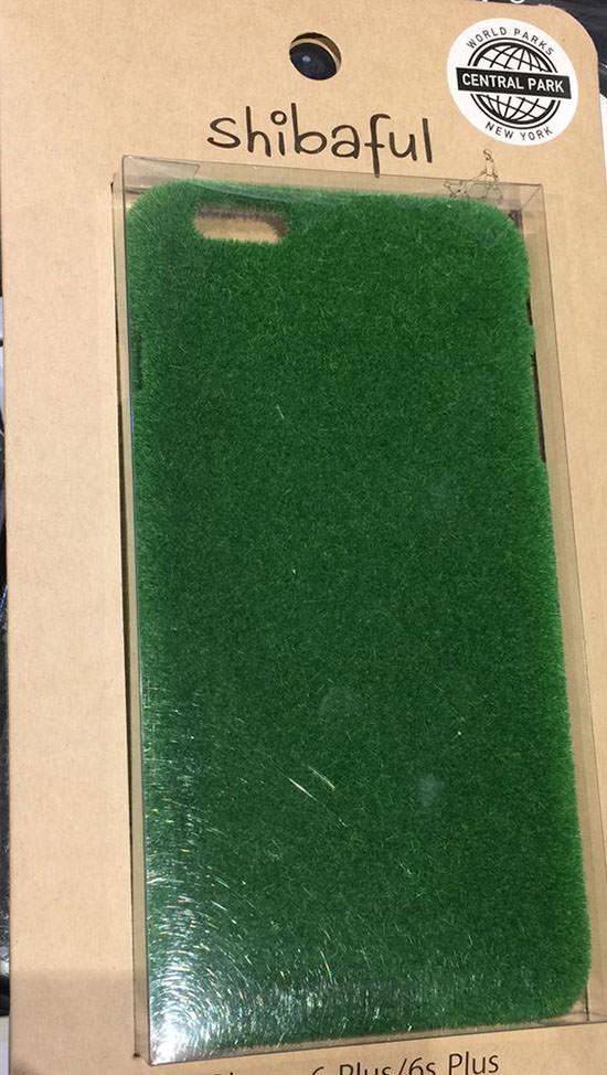 Artificial grass phone case