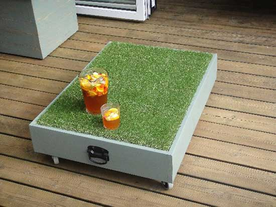 Synthetic Grass for Pimms