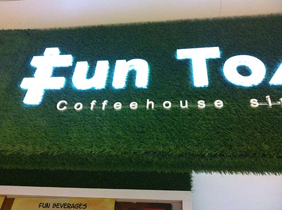 Sythetic Grass Shop Signage