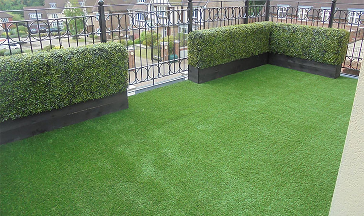 Artificial Grass Balcony Flooring
