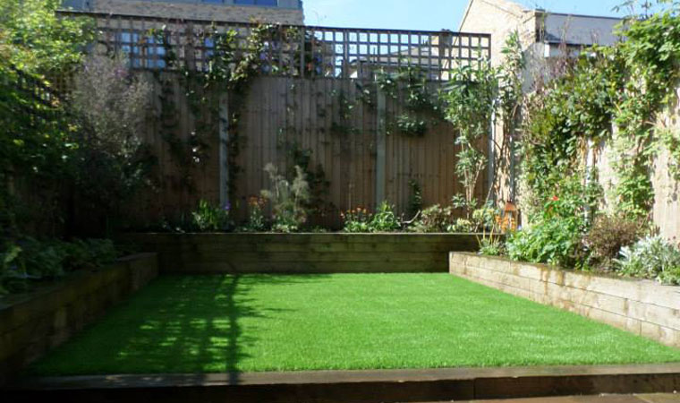 artificial grass in hackney installed