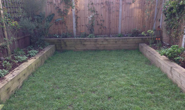 artificial grass in hackney groundworks
