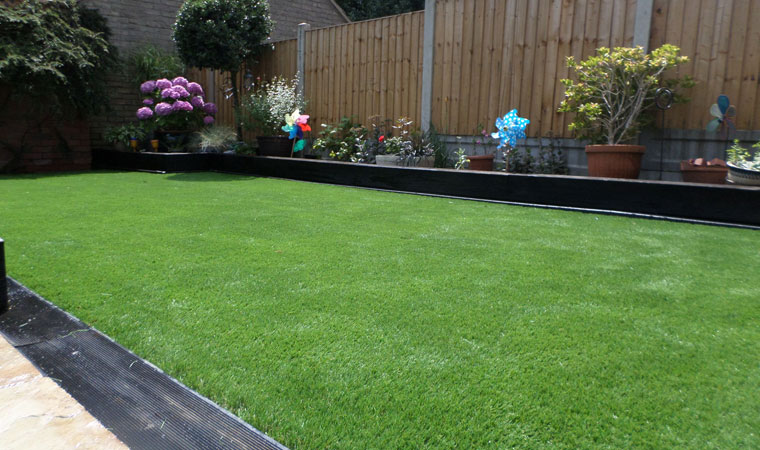 Artificial Grass in Chelmsford Completed