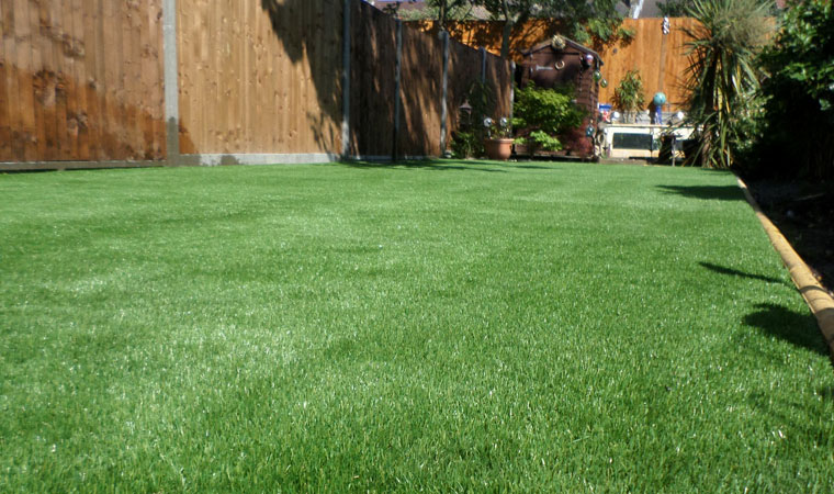 Completed Artificial Grass Lawn in Catford