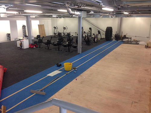 Americas Cup Gym Before