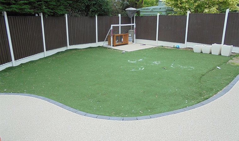 Before Replacement Grass