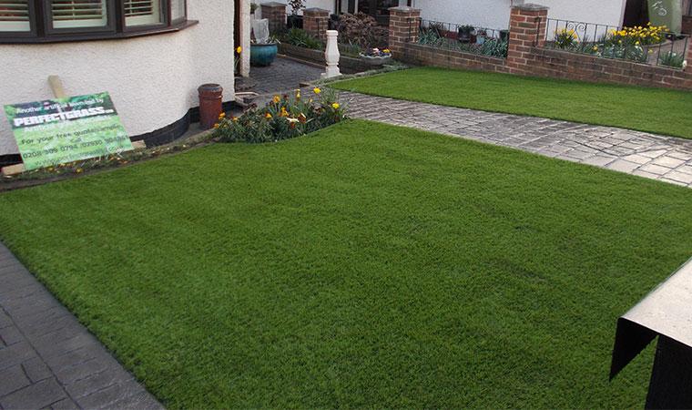 Artificial Grass Garden   Perfect Grass Ltd