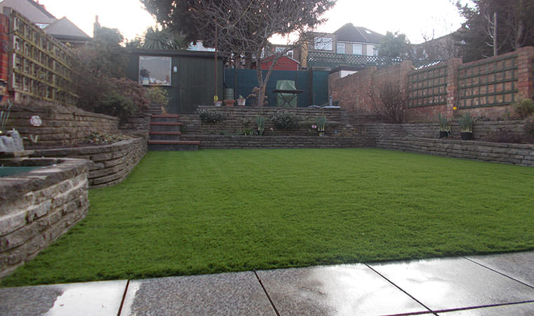 New artificial grass in Barnehurst
