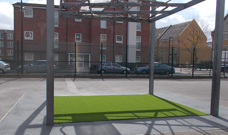 Artificial grass in Peckham