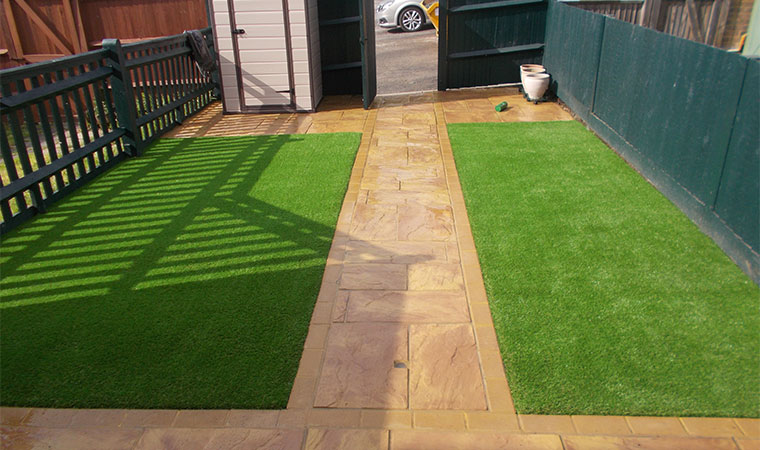 Areas covered i perfect grass ltd for Easy care landscape design