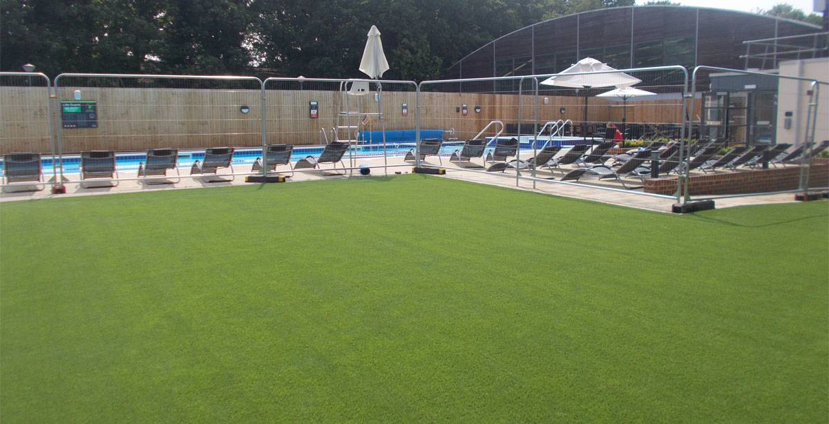 Landscaping completed at this David Lloyd Health Club