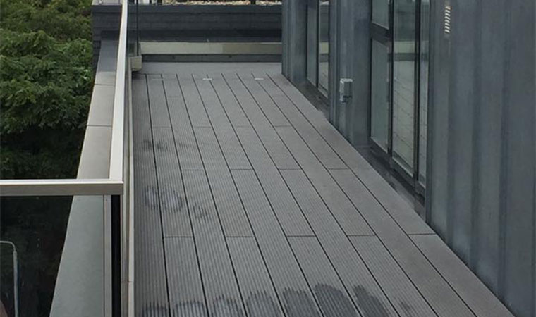 Penthouse Terrace Before