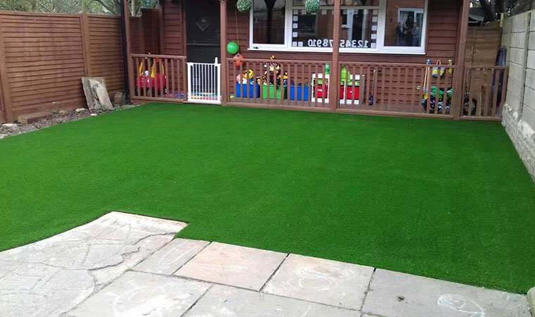 Artificial grass fitted in New Addington