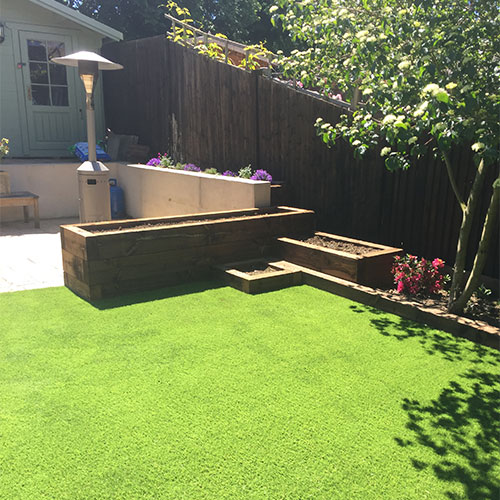 Great looking rectory grass