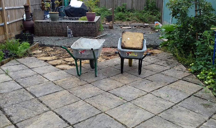 Replace Concrete Patio With Artificial Grass