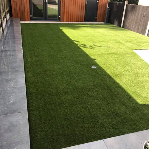 Great looking garden lawn