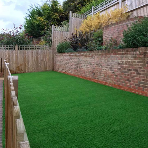 Great new artificial grass lawn