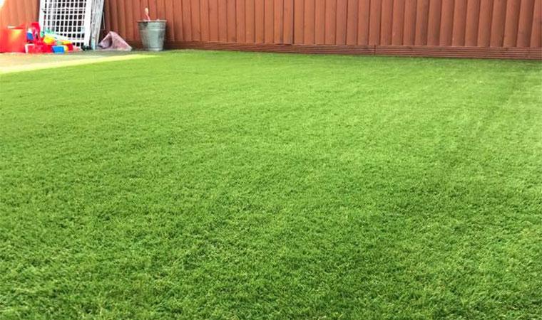 Raising the grass area