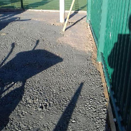 Groundworks completed