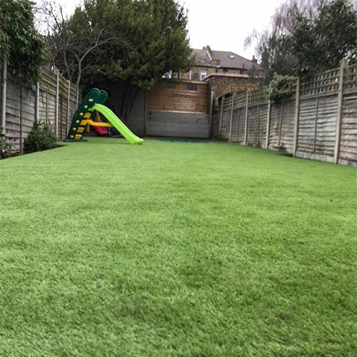 Levelling a garden lawn using sleepers   Perfect Grass Ltd