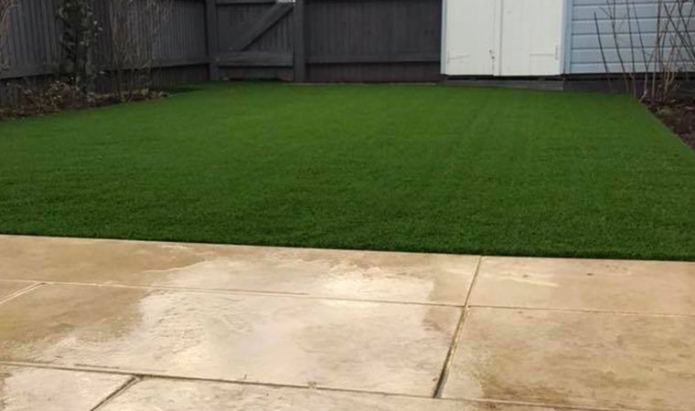 Artificial grass fitted in rochester