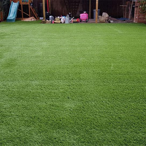 Finished lawn Shirley
