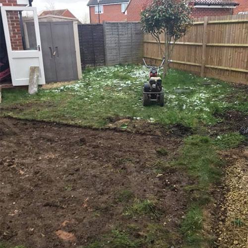 Muddy Messy Lawn