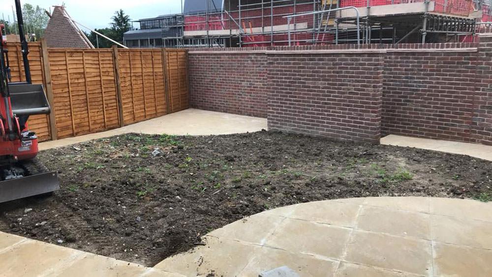 New build poor topsoil