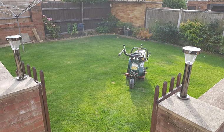 Back garden Essex