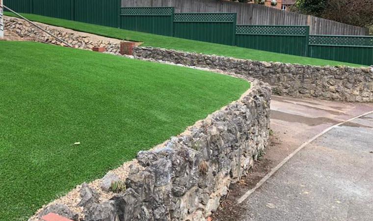 Installed artificial grass Snodland