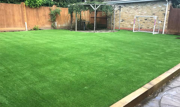 Result of new lawn