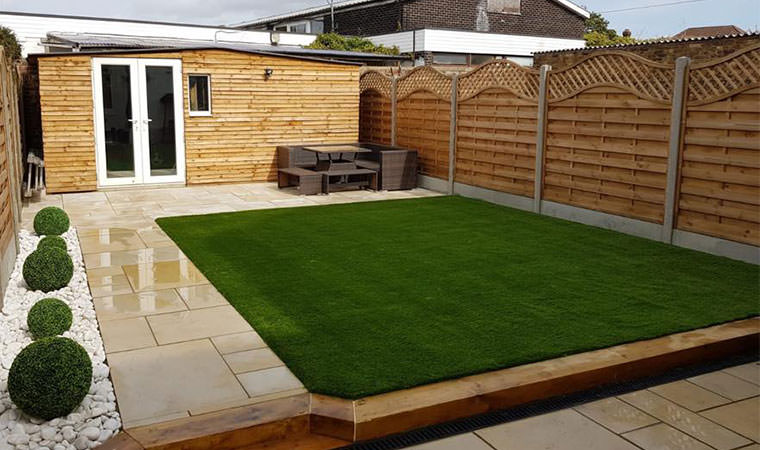 Welling lawn completed