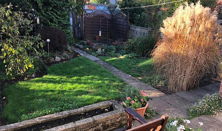 Back garden Bexley