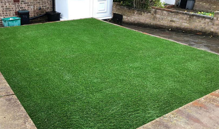 Lawn expertly laid