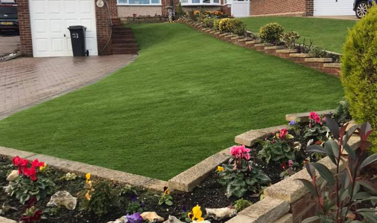 Tricky lawn Selsdon fitted artificial grass