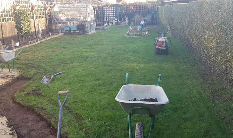 Existing garden in Lee