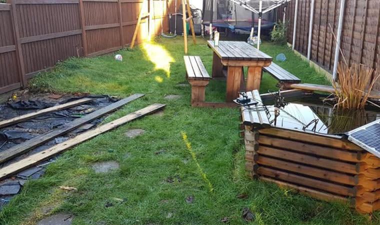 Existing Ilford garden
