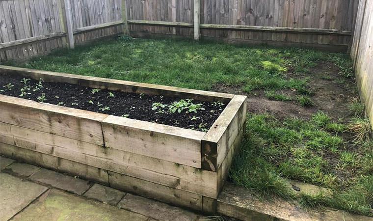 New build garden Kent