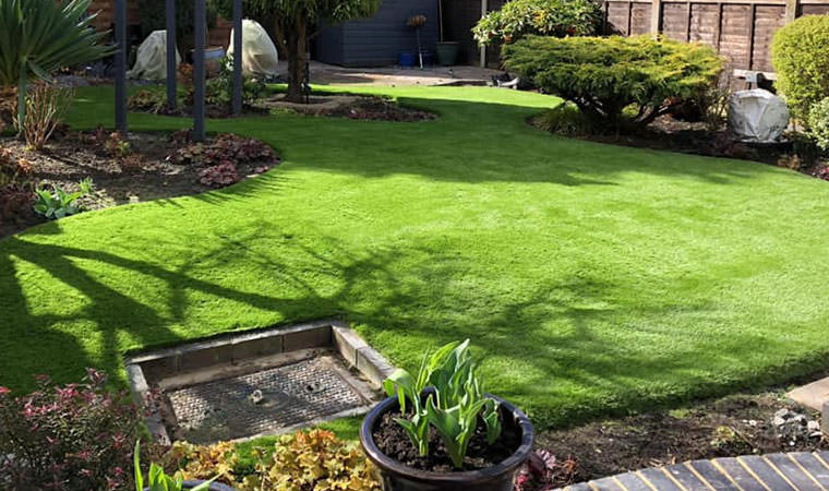 Completed Ditton lawn