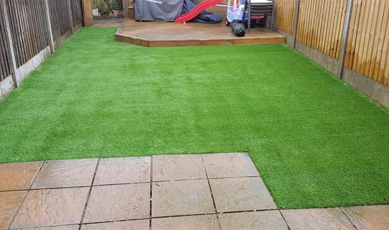 Completed Snodland garden