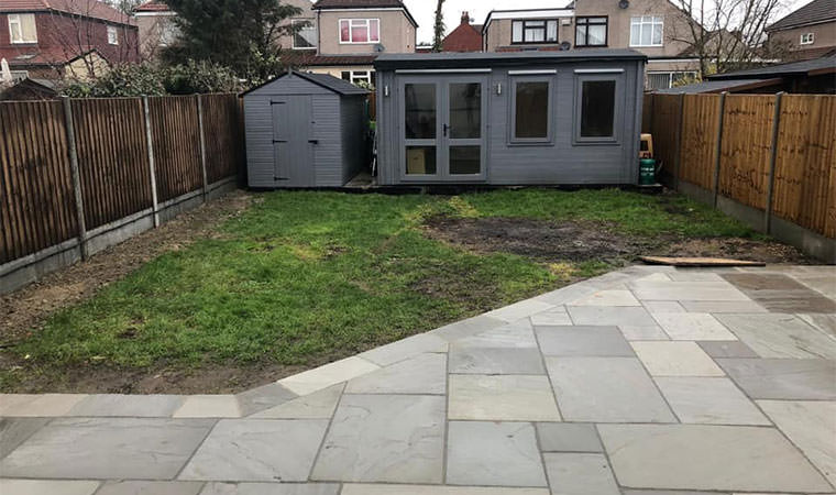 Existing lawn Welling