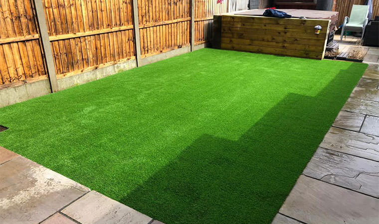 Artificial grass Sutton at Hone