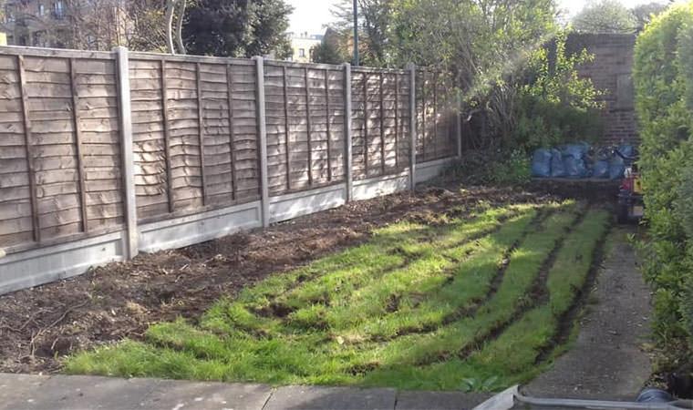 Existing Lawn Bexleyheath
