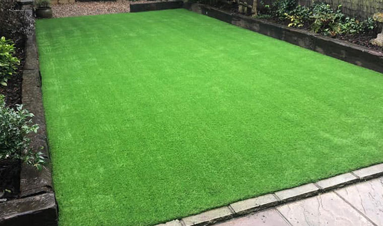 Greyhound proof lawn installed