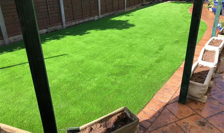 Rectory grass fitted