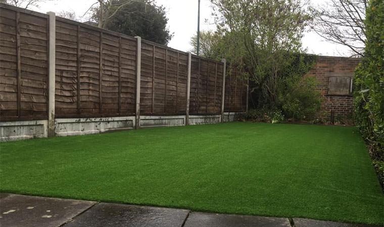 Transformed lawn Bexleyheath