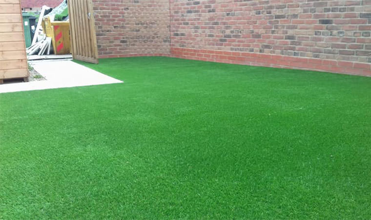Artificial lawn installed Orpington