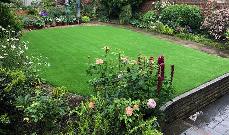Dartford lawn complete