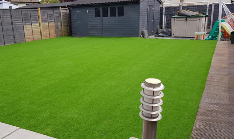 Sythetic lawn fitted Beckenham